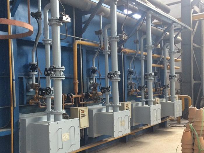 蓄熱式臺車爐