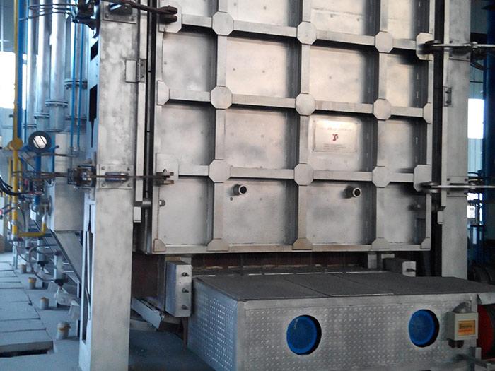 蓄熱式臺車加熱爐